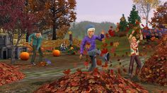 The sims 3 seasons pic Sims 1, The Sims, Sims 3 Seasons, Sims 3 Games, Sims 4 Clothing, I Am Game, Fun, Life, Video Games