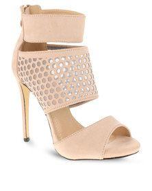 Zoom Sian Heels Cream Winter Boots, Shoes Online, Heeled Mules, Peep Toe, Glamour, Cream, Sandals, Heels, Stuff To Buy