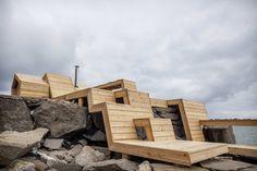 """Проект """"Полосы"""" (The Bands) в Норвегии от AHO Oslo School of Architecture."""