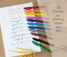 51 Ideas For Diy Cuadernos Plantillas Bullet Journal School, Bullet Journal Quotes, Bullet Journal Inspo, My Journal, Calligraphy Letters Alphabet, How To Write Calligraphy, Diy Letters, Caligraphy, Doodle Lettering