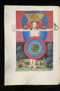 Favorite ms illustration of the day Genève, Bibliothèque de Genève, Ms. fr. 167, p. 27v – Jean Thenaud, Introduction to the Cabala, dedicated to King François I.