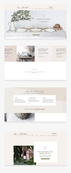 Sophisticated minimal website design for Roz McIntosh Photography and Styling New Zealand. Get in touch with CIP Design Studio today to find out more about how we can help your business shine online.  #websitedeisgner #minimalwebsitedesign #cleanwebsitedesign #moderndesign #zoesizemore #cipdesignstudio  www.cipdesignstudio.com Minimal Website Design, How To Find Out, Modern Design, Touch, Studio, Business, Photography, Style, Swag