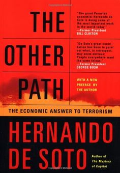 The Other Path: The Economic Answer to Terrorism  US $14.24 & FREE Shipping  #bigboxpower