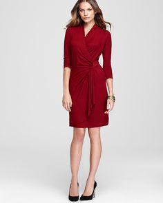 Karen Kane Cascade Wrap Dress | Bloomingdale's