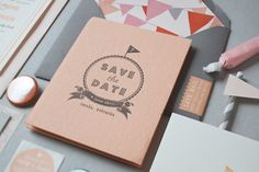 Accordion-Fold-Save-the-Dates-Inclosed-Studio