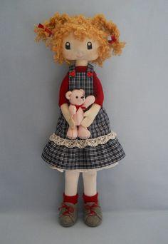 Textile Doll Krista