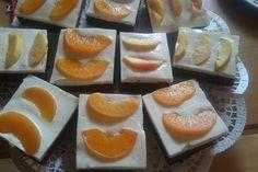 Blechkuchen mit Mandarinen und Schmand, ein sehr schönes Rezept aus der…