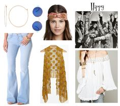 Halloween Costumes from your Closet: Hippy [www.highwaistedblog.com]