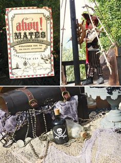 Pirates of the Carribean Birthday Party