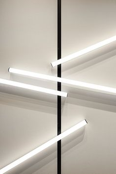 Magnetic tubular lights for the Move It System Light Architecture, Lighting System, Offices, Pendant Lighting, Blinds, Events, Interiors, Curtains, Lights