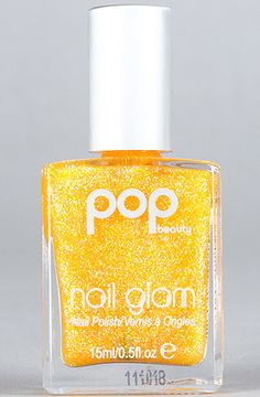 Pop Beauty The Nail Glam Polish in Tangerine Glitz : Karmaloop.com - Global Concrete Culture