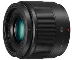 Product Development Announcement - Panasonic G 25mm F1.7