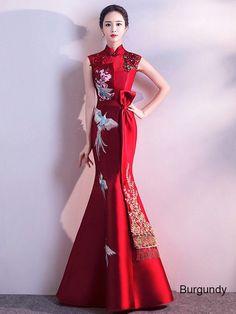 f0f787fd1 Kết quả hình ảnh cho cheongsam back Cheongsam Wedding, Cheongsam Dress,  Chinese Wedding Dress