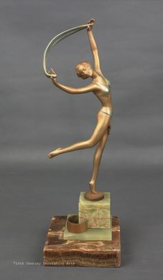 Art Deco Lorenzl bronze 1930s