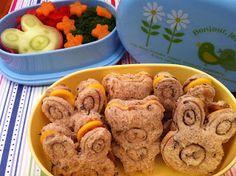 El Lunch de mi Enano: Conejos y osos escolares!