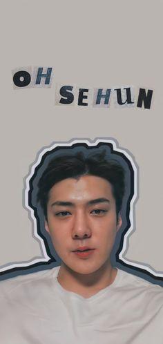 Exo Ot12, Chanbaek, Exo Kai, Exo Chanyeol, Sehun Cute, Exo Lockscreen, Cute Little Drawings, Aesthetic Art, Jaehyun