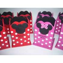 Lapicero Minnie Mickey Souvenir! X 10 Unidades