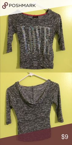 Super cute shirt Super cute shirt, size S and is in good condition Miss Chievous Tops Tees - Long Sleeve