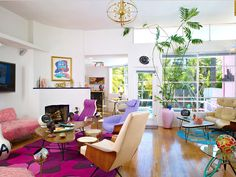 Grammy and Emmy winning songwriter, producer, artist, set designer, director and collector Allee Willis' home.