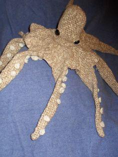 Little Octopus: http://www.ravelry.com/patterns/library/amigurumi-stuffed-octopus-crochet-pattern