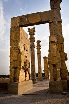 Persepolis: The magnificent palace complex at Persepolis was founded by Darius the Great around 518 B.C.