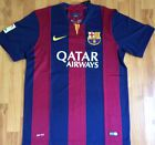 For Sale - FC Barcelona FCB La Liga 2014-2015 Home Soccer Jersey New Size M Medium - http://sprtz.us/BarcelonaEBay