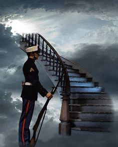 Remember the fallen heroes always! Once A Marine, Marine Mom, Marine Life, Remember The Fallen, My Champion, Fallen Heroes, Fallen Soldiers, Fallen Soldier Memorial, Stairway To Heaven