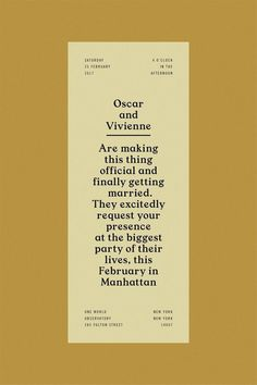 This is a great layout and I love the use of the no. design, typography, wedding, y Layout Design, Font Design, Web Design, Typography Design Layout, Print Layout, Editorial Layout, Editorial Design, Identity Design, Magazin Design