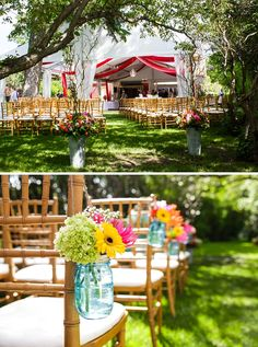 backyard wedding ideas see more of erin and james wedding http