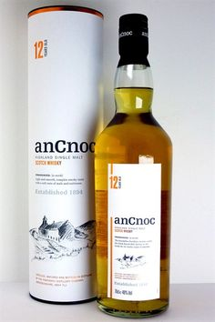anCnoc / 12 years Speyside / Smooth and fruity