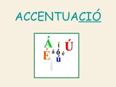 Accentuació by joanpol via slideshare Valencia, Bar Chart, Fails, Language, School, Music Notes, Reading, Studios