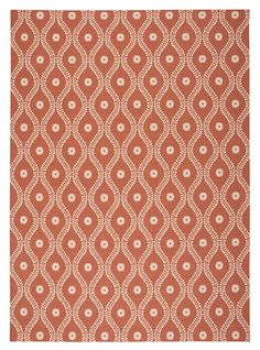 Amazon.com: Nourison Home & Garden (RS085) Rust Rectangle Area Rug, 10-Feet by 13-Feet  (10' x 13'): Kitchen & Dining