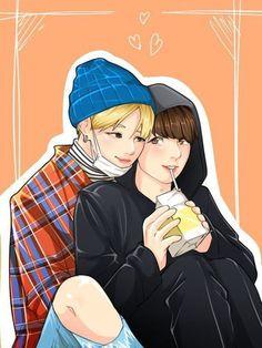 Read from the story Jungkook¡Bottom! Fanart's by KookiecomToddy (𝒮𝓇𝒶. Chibi, Vkook Fanart, Art Love Couple, Cute Couples, Art, Fan Art, Wattpad, Anime Chibi