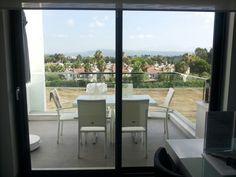 q-spa-resort; Balkon aan de keuken.