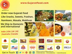 Buy Gujarati food online #snacks #namkeen #Sweets #Khakhra #Farshan #masala #mukhvas best buy from www.gujaratfood.com and enrich your any meal  #Healthy #gujaratfood #gujjutaste #gujaratfoodlover  We are selling Gujarat's Top and Popular Food #Brands  Shipping available in #India, #USA, #UK, #Singapore, #Australia, #Canada  Like us on: Facebook: Gujaratfood.com Follow us on: Instagram: Gujaratfood1511 Follow us on: Twitter : GujaratFood1…