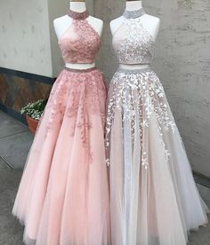 Prom Dresses Lace, Prom Dresses Two Piece, Modest Prom Dresses, A-Line Prom Dresses, Custom Made Prom Dresses Prom Dresses Long Outlet Delightful Prom Dress For Cheap Two Piece Prom Dress A-line Simple Modest African Lace Cheap Long Prom Dress # Prom Dresses Long Pink, Lace Evening Dresses, Cute Dresses, Beautiful Dresses, Dress Lace, Tulle Lace, Beaded Lace, Dress Prom, Elegant Dresses