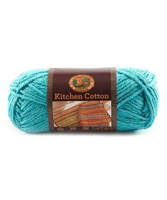 Loving this Tropic Breeze Kitchen Cotton Yarn - Set of Three on #zulily! #zulilyfinds