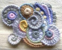 Resultado de imagen para crochet free form en español