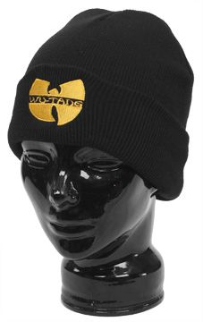 The Original Wu Tang Brand Wu Logo Skull Cap - Black: Wu Wear - Official Wu Tang T Shirts, Shoes and Clothing from Wu Tang Clan