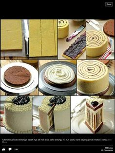Vertical Layered Cake