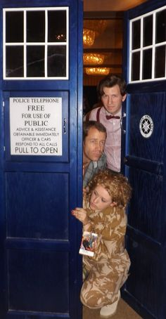 #Eureka's Colin Ferguson in the TARDIS? Talk about a crossover episode that would make!