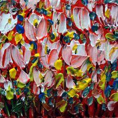 Original Oil Painting Modern Impressiionist by LUIZAVIZOLI on Etsy, $49.00