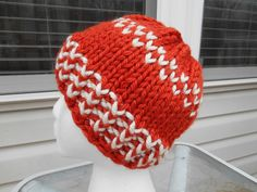 Knit this bright and cheerful colorwork hat with Lion Brand Hometown USA! Get the pattern by Knitting with Schnapps!