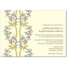 wedding reception invitation samples