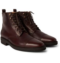 Billy ReidKieran Cap-Toe Leather Boots
