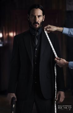 Fans of John Wick can rejoice! We now have a poster for the upcoming sequel, titled John Wick: Chapter Two. Keanu Reeves is back to handle some sort of mayhem a John Wick 2 Poster, John Wick Film, Watch John Wick, John Wick 1, Keanu Reeves John Wick, Keanu Charles Reeves, Keanu Reeves News, Keanu Reaves, Mode Man