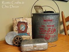 Fishing for Lake Cottage Decorations | Vintage Fishing Decorating Ideas For Your Cabin Decor