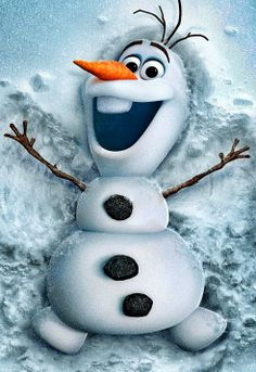 "Olaf from Disney's animated cartoon ""Frozen"". Olaf is an adorable character that was brought to life by Elsa, by the he loves summer which is so ironic. If you have not seen Frozen it's a must see cartoon and now you know a little about Olaf. Disney Olaf, Frozen Disney, Disney Amor, Walt Disney, Olaf Frozen, Disney Magic, Frozen 2013, Frozen Live, Disney Movies On Dvd"