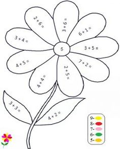 Spring Math Coloring Sheets Luxury Quality Pre Made Math Worksheets Color by Number Math Coloring Worksheets, Kindergarten Math Worksheets, Teaching Math, Math Activities, Number Worksheets, Teaching Geography, Addition Worksheets First Grade, Subtraction Kindergarten, Free Math Worksheets