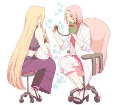 Ino, Inojin, and Sakura